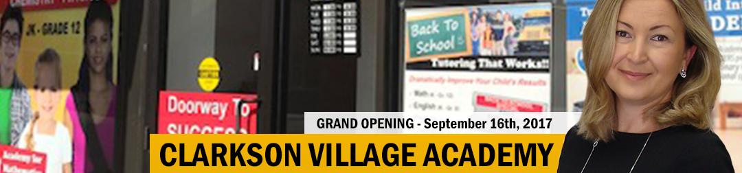 Grand Opening – Clarkson Village Tutoring Centre
