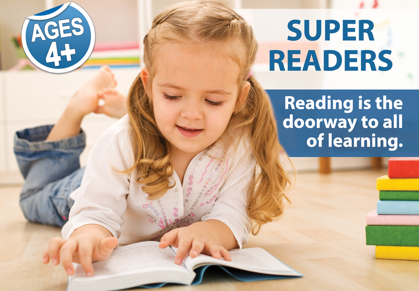 Reading is the doorway to all of learning.
