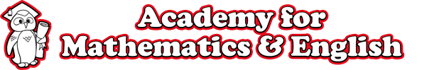 Academy for Mathematics & English Logo