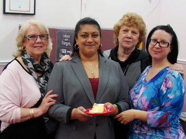 Chandra With Head Office Team