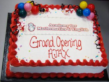 Grand Opening Celebration Cake